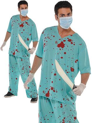 Bloody Doctor Scrubs
