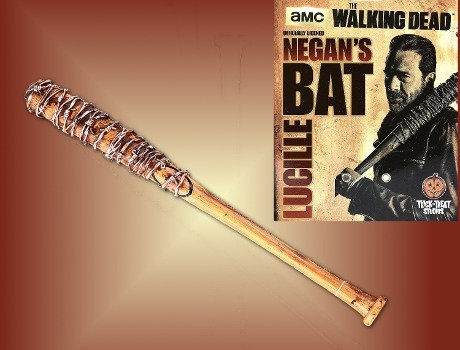 trick or treat studios walking dead: Negans Bat Lucile