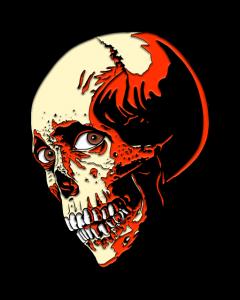 Evil Dead 2 Skull
