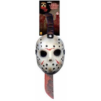 Jason mask and machette
