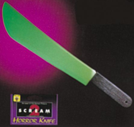 Glow in dark scream knife