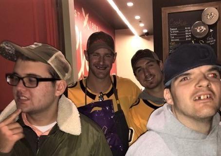 Nashville Men Support the Predators