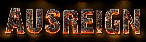 AusReign magma logo