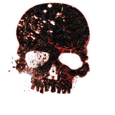AusReign Conan red skull.