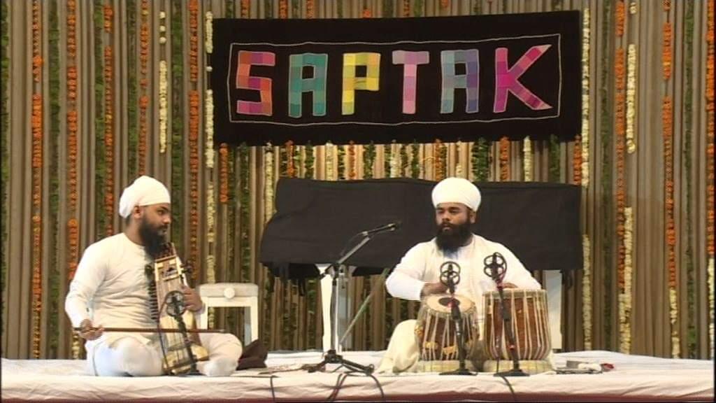 Solo Performance at SAPTAK
