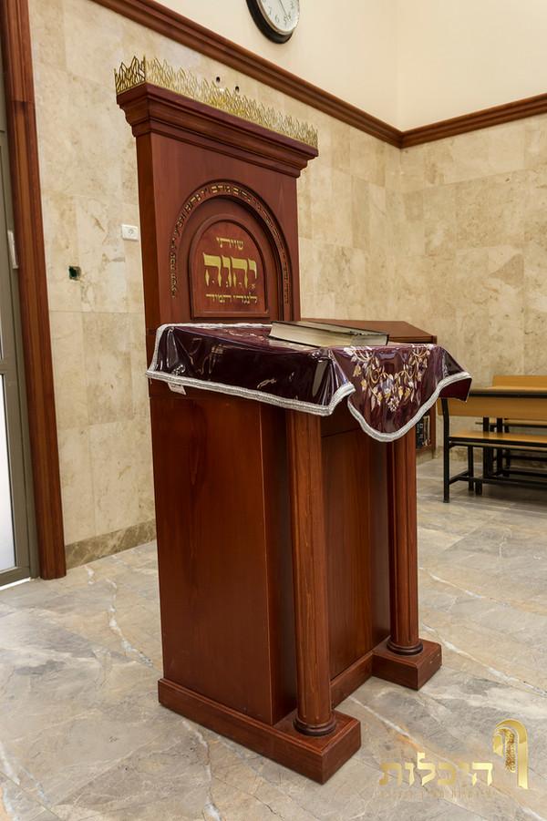 עמוד לחזן תפילה למשה