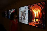 Jokarta, Jakarta, paper craft, diorama, shadow boxes, home decor, italy, giovanna de bartolo