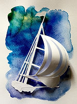 Birthday greeting card (sailboat), Jokarta
