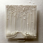 jokarta.com, papercraft, wallart, home decor, bamboo forest, original artwork