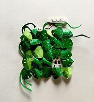 jokarta.com, papercraft, wallart, home decor, paper sculptures, monstera