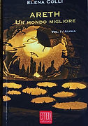 Bookcover, illustration, diorama, shadowbox, Areth, Elena Colli, Novara, Effedì Edizioni, Jokarta