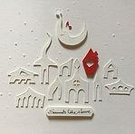 jokarta.com, papercraft, wallart, home decor, sounds like home, original artwork