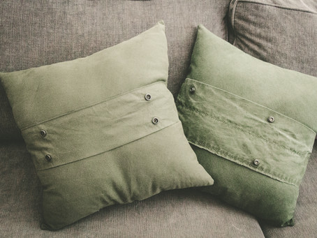 Up-Cycle Pillows