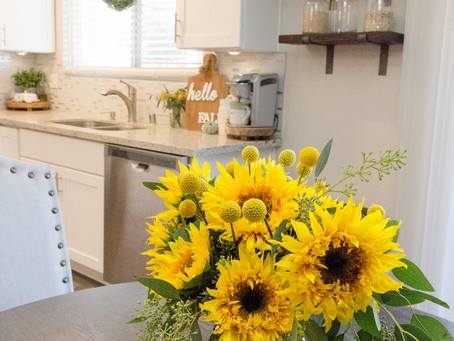 Simple Fall Kitchen Decor