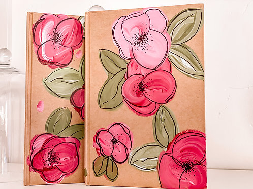 Hand painted journal