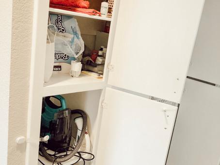 Clean your clutter - Linen Closet