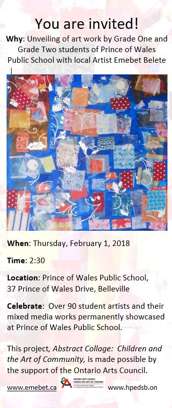 Prince of Wales Invitation