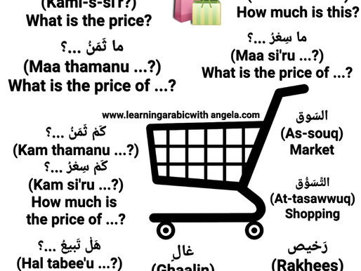 Shopping, Asking about Price, Money Exchange, and Banking