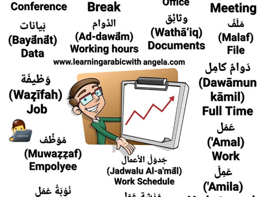 Business Arabic & Writing Letters in Arabic