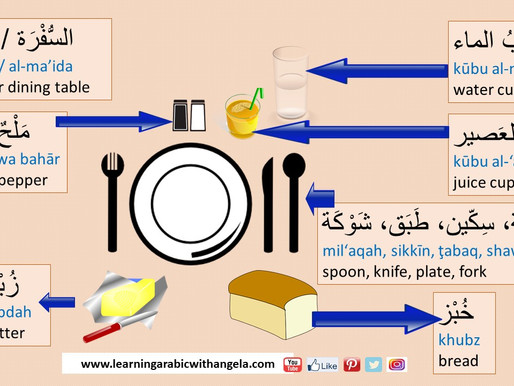 All about Food and Eating Out in Arabic