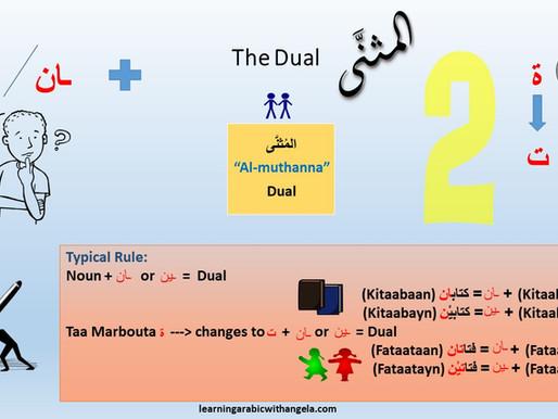 "The Dual in Arabic Language ""Al-muthanna"""