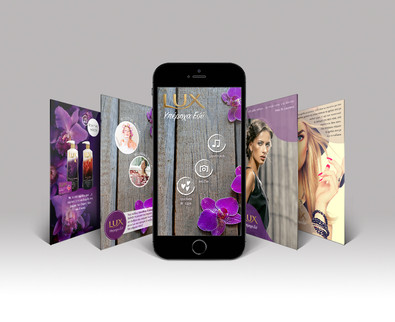 Lux Campaign - Blippar App