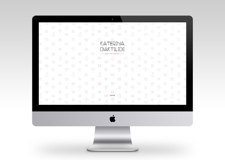 Katerina Daktilidi Logotype, Website