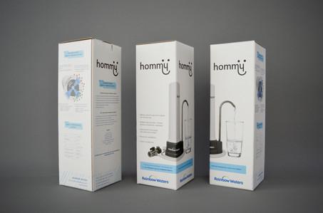 Hommy Brand naming, Logotype, Packaging