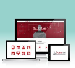 Hubic Logotype, Icons, Website