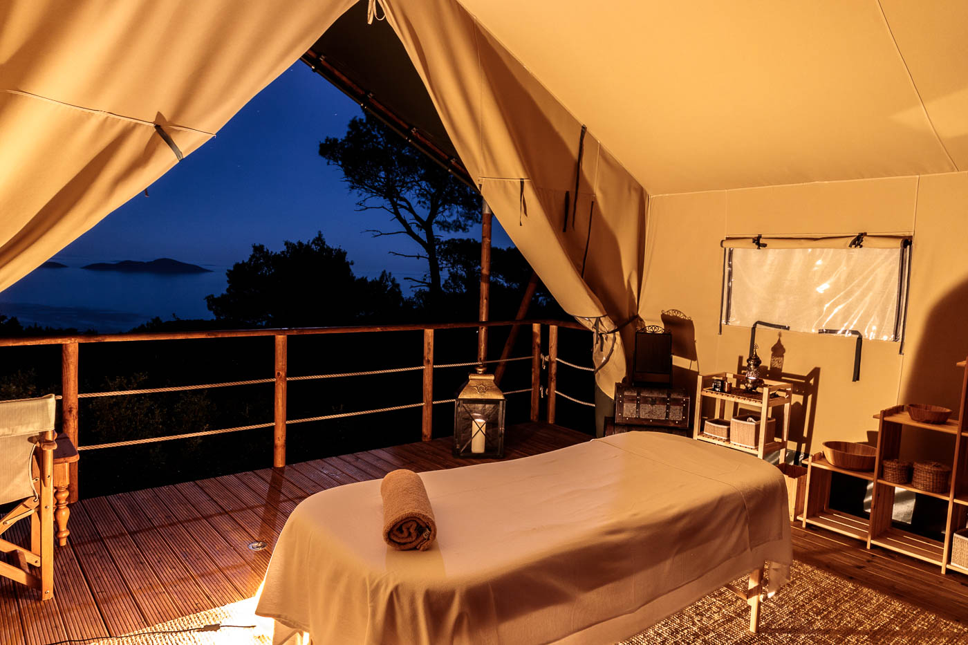 Evening massage at The Amani 180