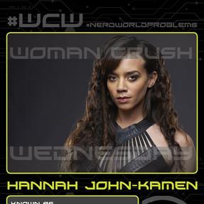 Hannah John-Kamen