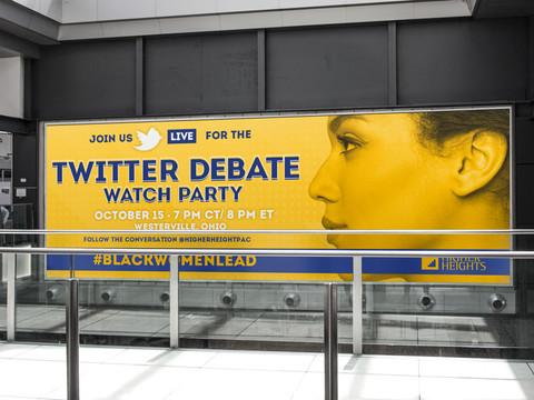 Live Twitter Debate