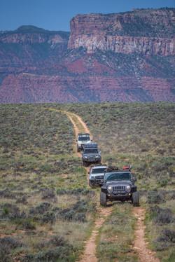 Convoy of trucks-1