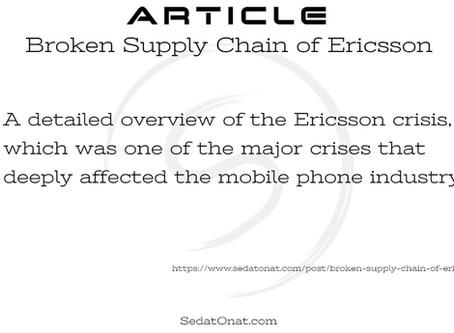 Broken Supply Chain of Ericsson