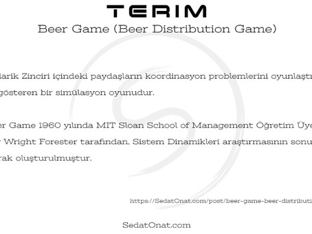 Beer Game (Beer Distribution Game)