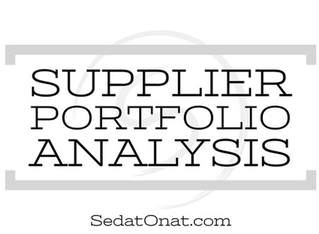 Supplier Portfolio Analysis