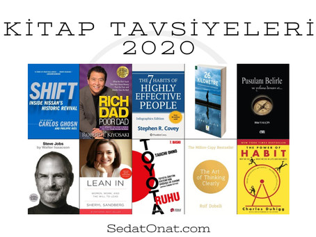 Kitap Tavsiyeleri - 2020