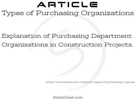 Types of Purchasing Organizations