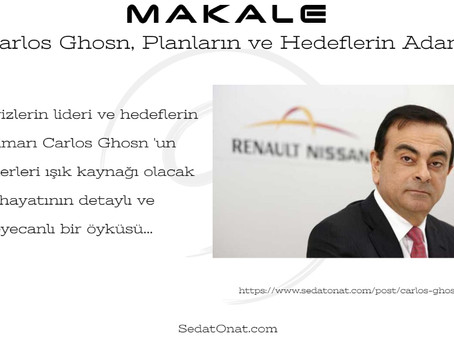 Carlos Ghosn, Planların ve Hedeflerin Adamı