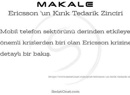 Ericsson 'un Kırık Tedarik Zinciri