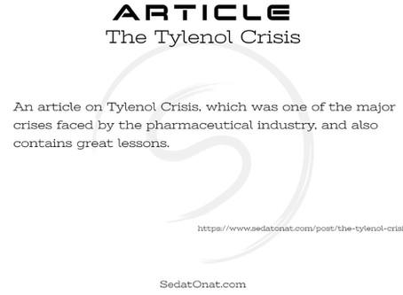 The Tylenol Crisis