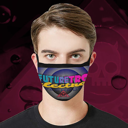 The Lowest of Low FutureRetro Electro Records Logo Face Mask fully washable reuseable cool design 3 sizes man