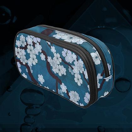 The Lowest of Low Sakura Breeze Art Supplies Pencil Case Makeup Brushes Travel Toiletries zipper bag Night Blossoms