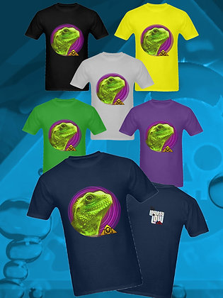 The Lowest of Low happy fun Lizard Overlord 100% cotton t-shirt streetwear style distinctive cool designer fashion Sicily