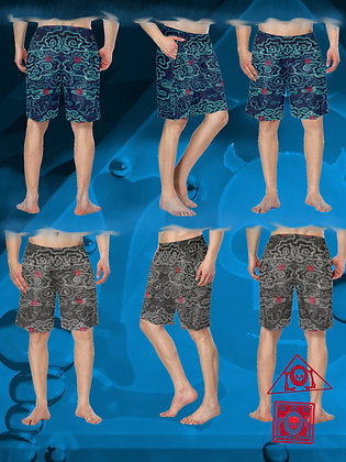 The Lowest of Low Flying Nimbus swimmy swimming swim trunks designer style modest comfort for beach and pool fun