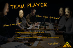 Team Player Lyrics Sheet