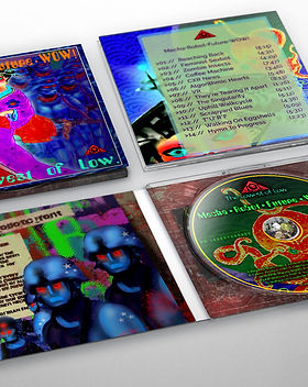 The Lowest of Low Mecha Robot Future WOW deluxe collectors edition cd digipack digipak