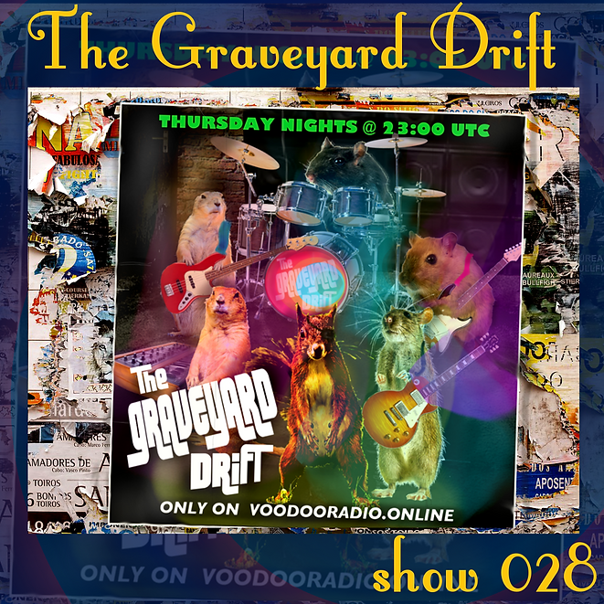 Graveyard Drift Radio Show Mixcloud 28 image Voodoo The Lowest of Low podcast