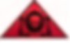 The Lowest of Low logo red triangle devil demon goat skull bones cute