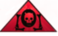 The Lowest of Low red triangle skull logo kawaii cute devil goat symbol band electronic music Italian Sicilian streetwear fashion design